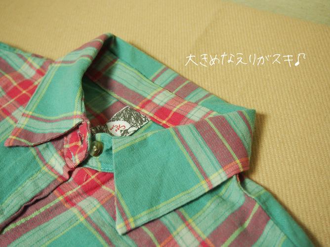 春・夏に使えるチェックシャツ coca通販