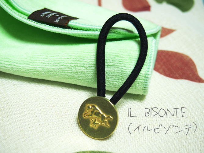 IL BISONTE(イルビゾンテ)ヘアゴム