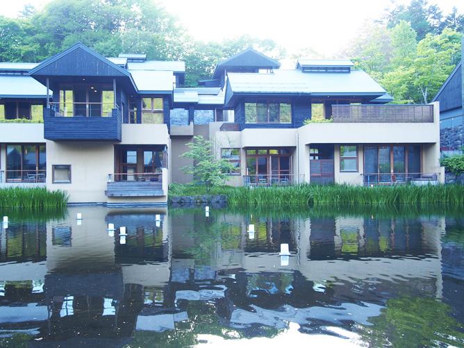 星のや軽井沢 景色 写真
