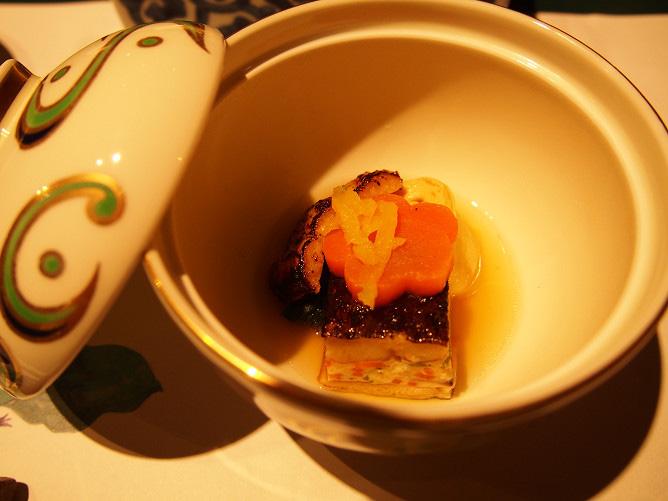 界アルプス ディナー 食事