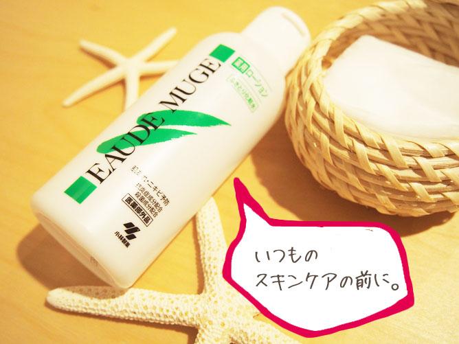 拭き取り化粧水 薬用ローション オードムーゲ