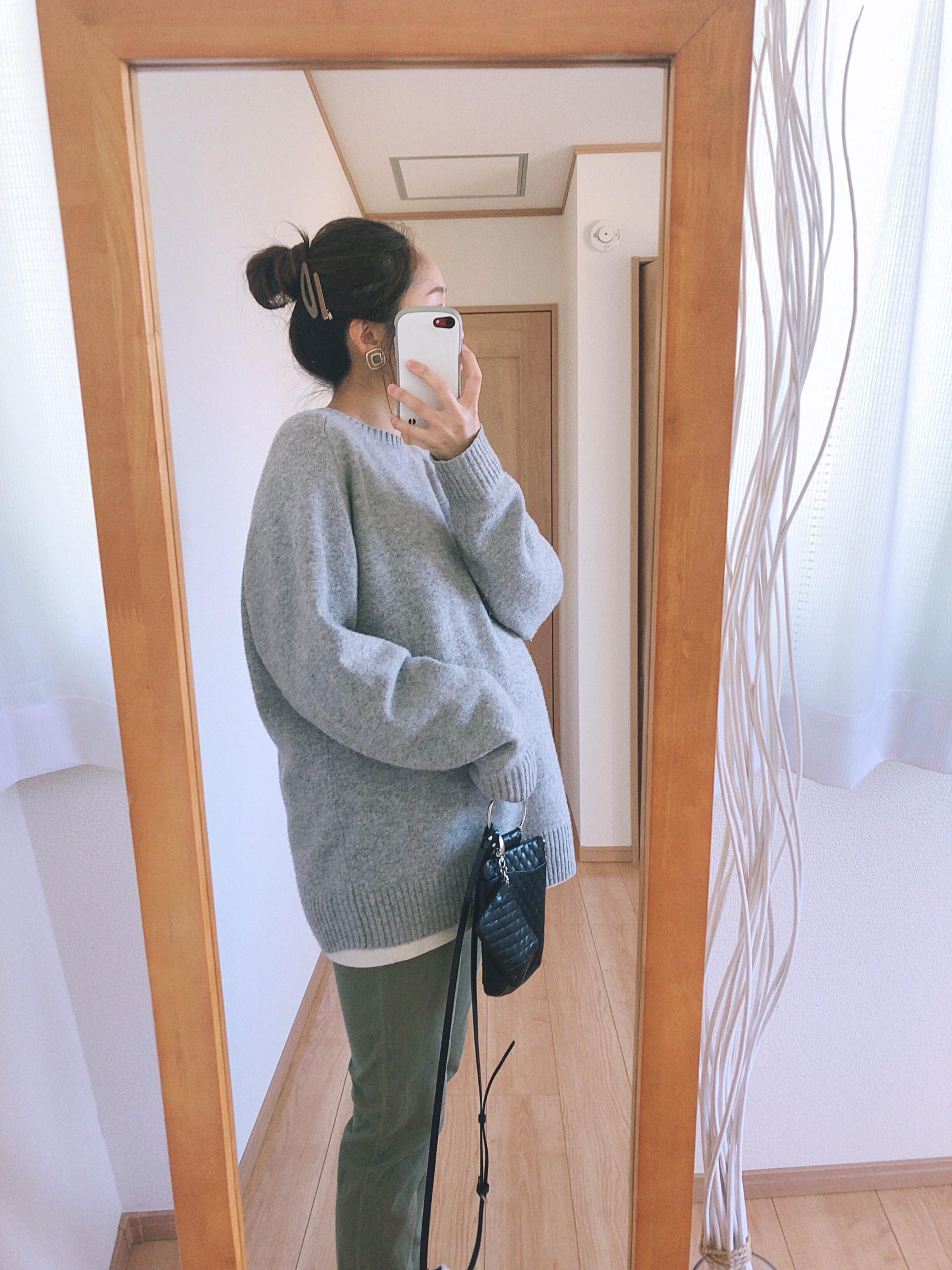 妊娠9か月~臨月のマタニティコーデ